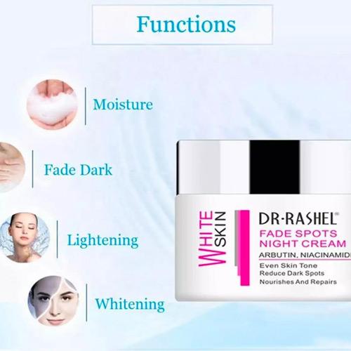 Dr Rashel Face Skin Whitening Night Cream -